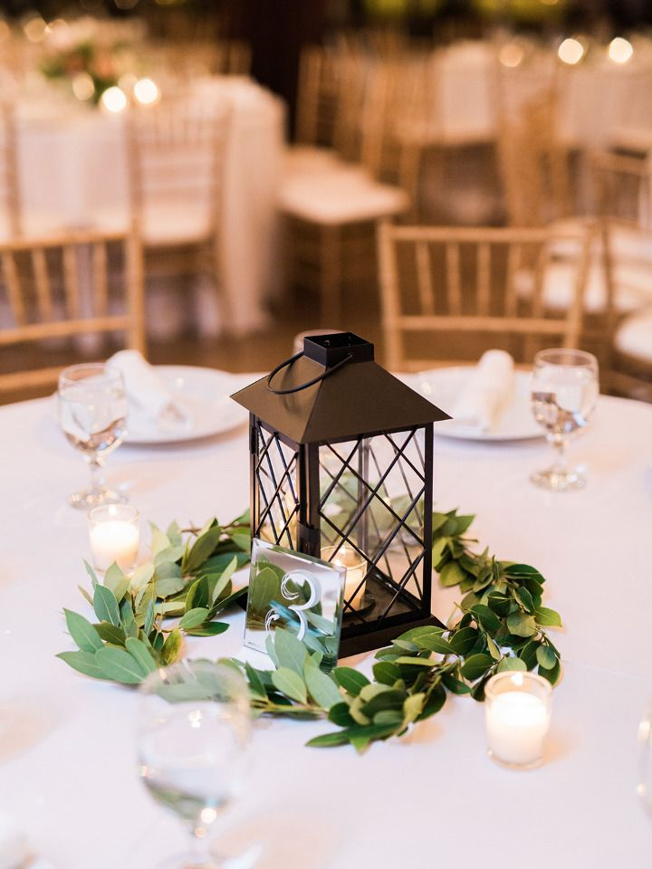 Timeless Elegance Texas Wedding In Shades Of Black White And Blush Lantern Centerpiece Wedding Elegant Wedding Centerpiece Wedding Floral Centerpieces