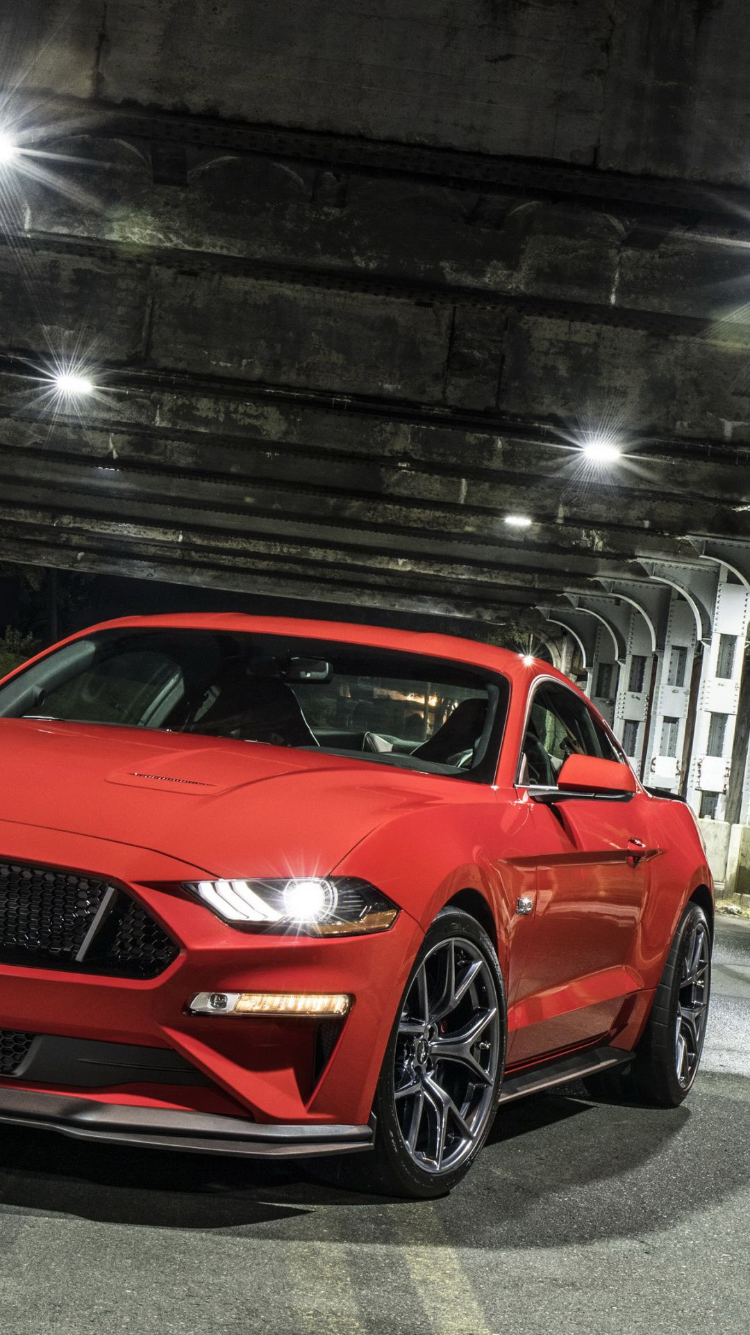 2018 Ford Mustang Gt Performance Package Level 2 Red Muscle Car