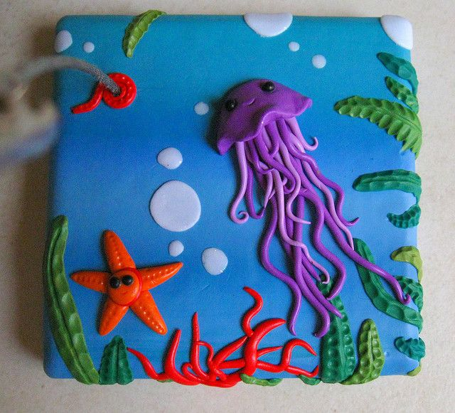 note stand   Jellyfish, Lights and Cake