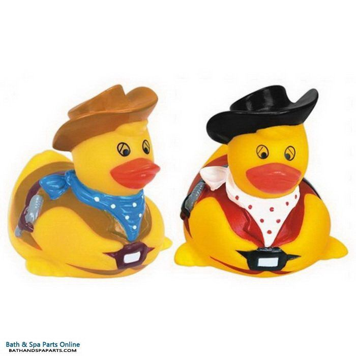 Rubber Duck Toy: American Cowboy Duck