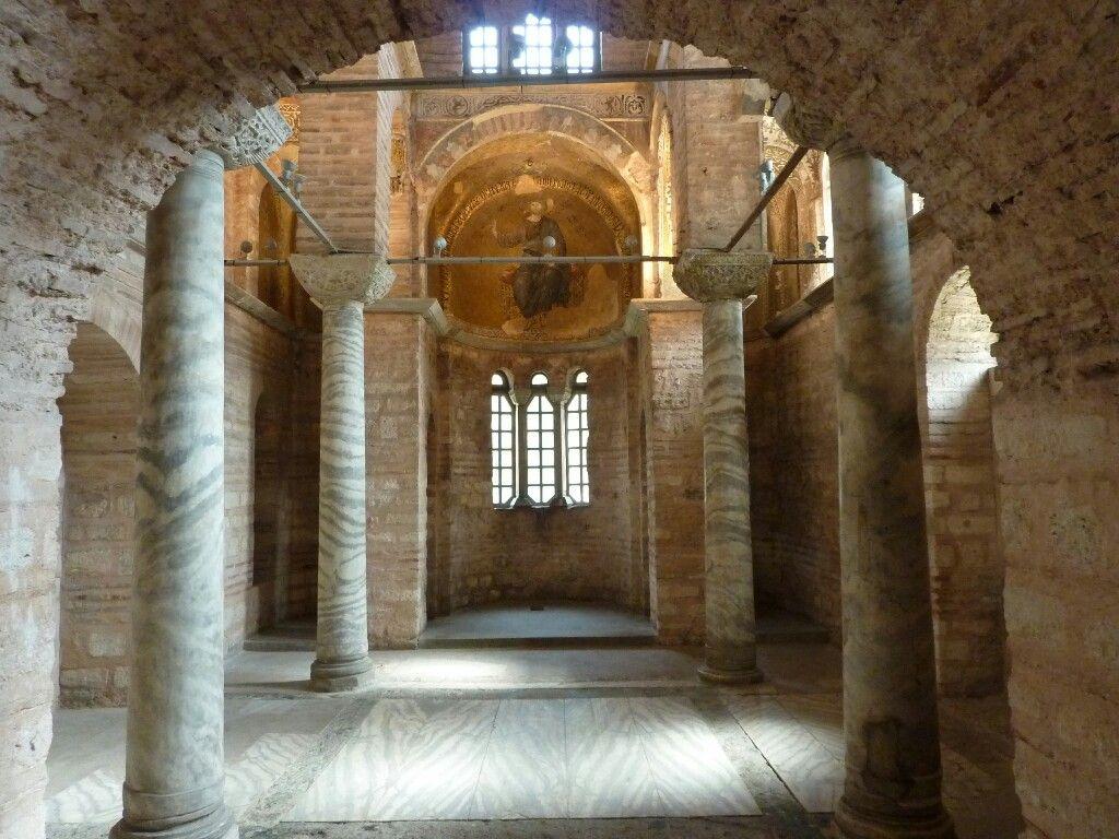 Chiesa della Theotokos Pammakaristos. Fondazione del XI o XII secolo | Church interior, Church, Istanbul