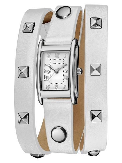 Women's White Wrap Watch - fashion accessory at the best price $38