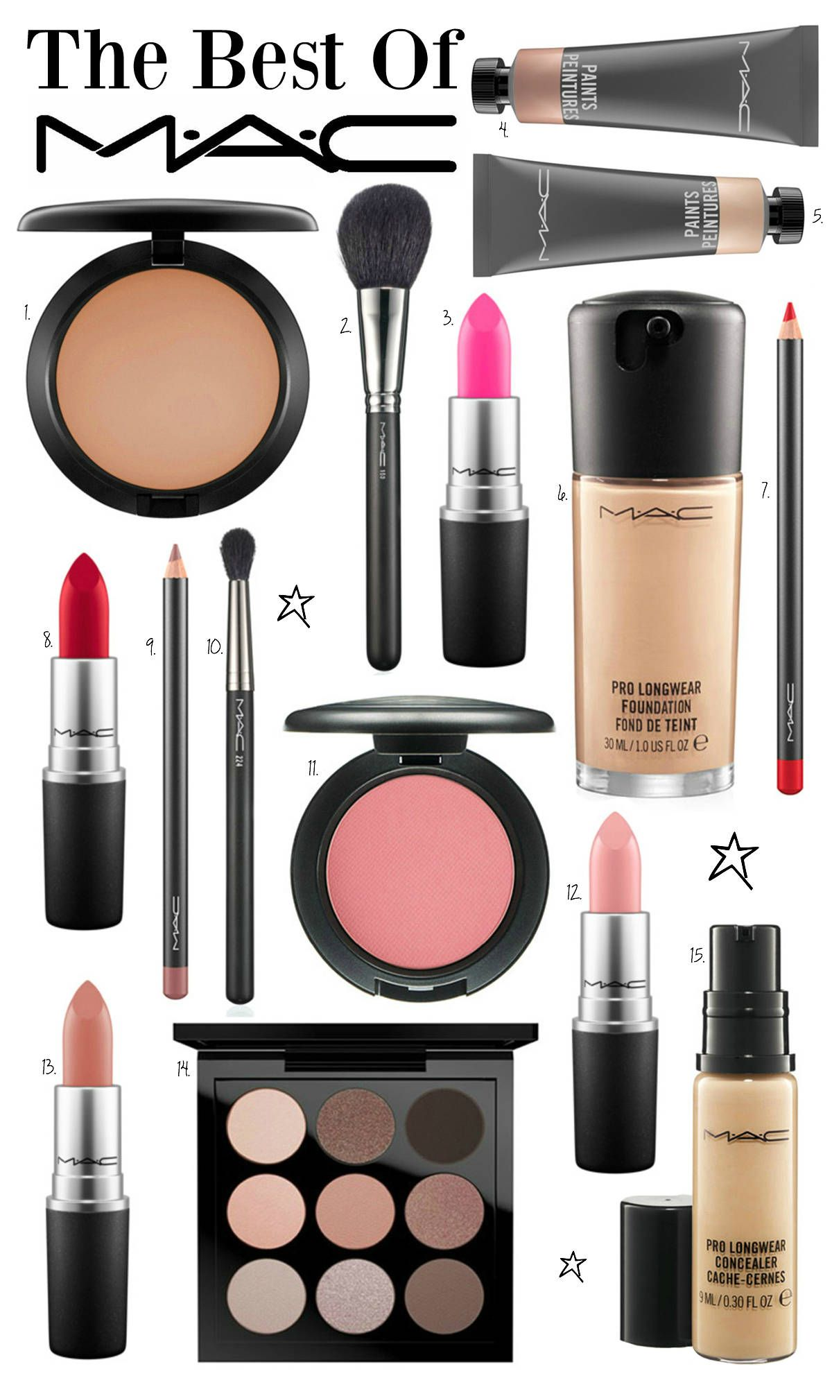 Mac Makeup Products