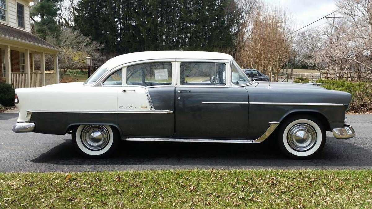 1955 Chevrolet Bel Air 4-Door Sedan Maintenance/restoration of old ...