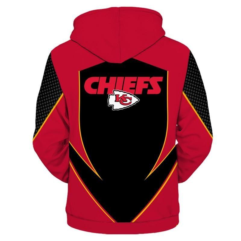 best loved 7d6a8 b38d1 New Design NFL Football Kansas City Chiefs 3D Hoodie ...