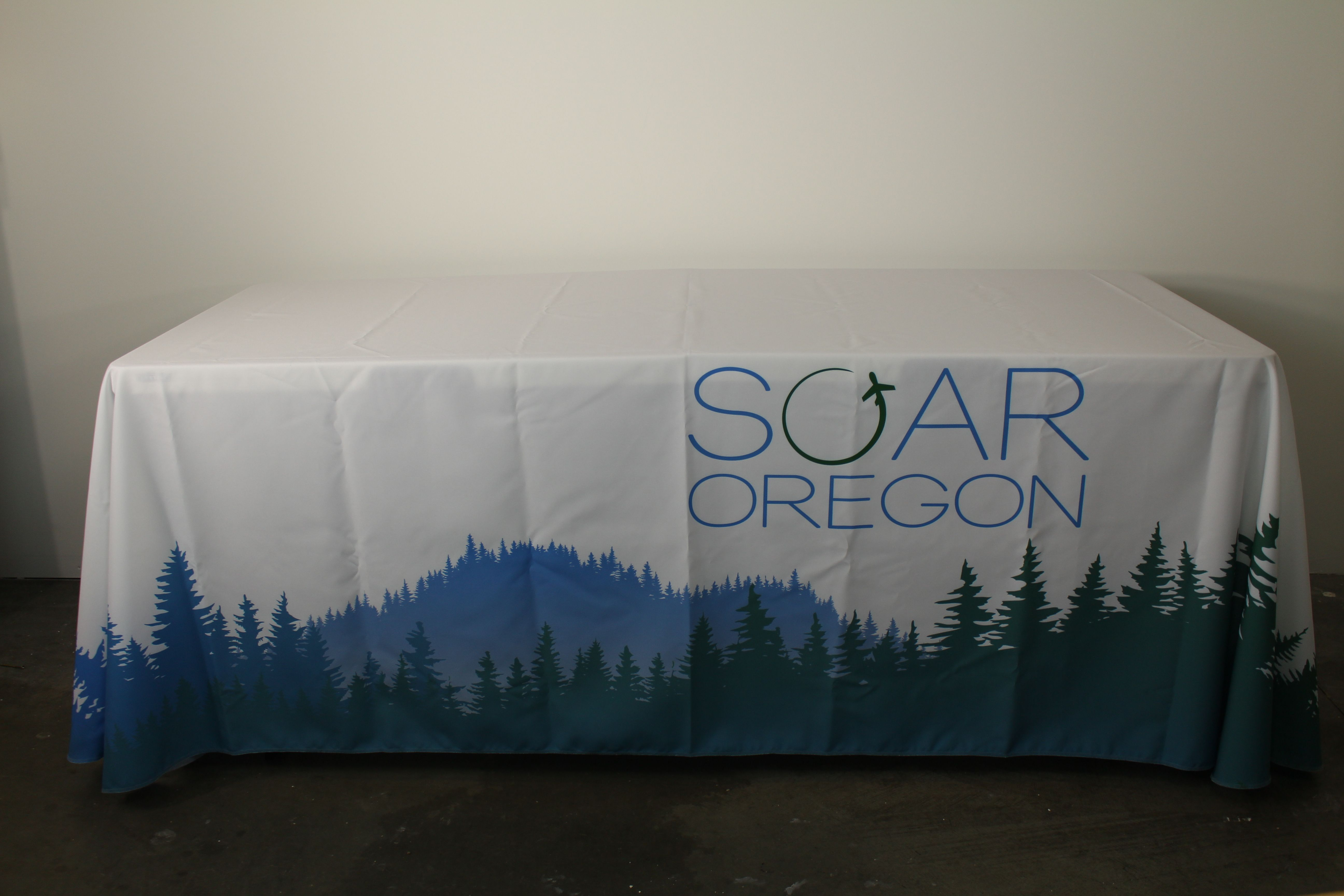 6ft Drape Table Cover Full Color Print Table Covers Prints