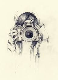 Pin By Mariana Rebeca On Wallpapers Art Drawings Camera Drawing Sketches