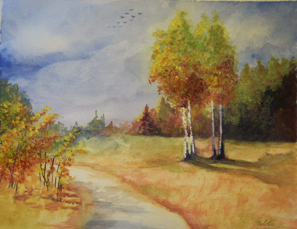 Autumn Ii By Egidijus Bulota Art Painting Fine Art