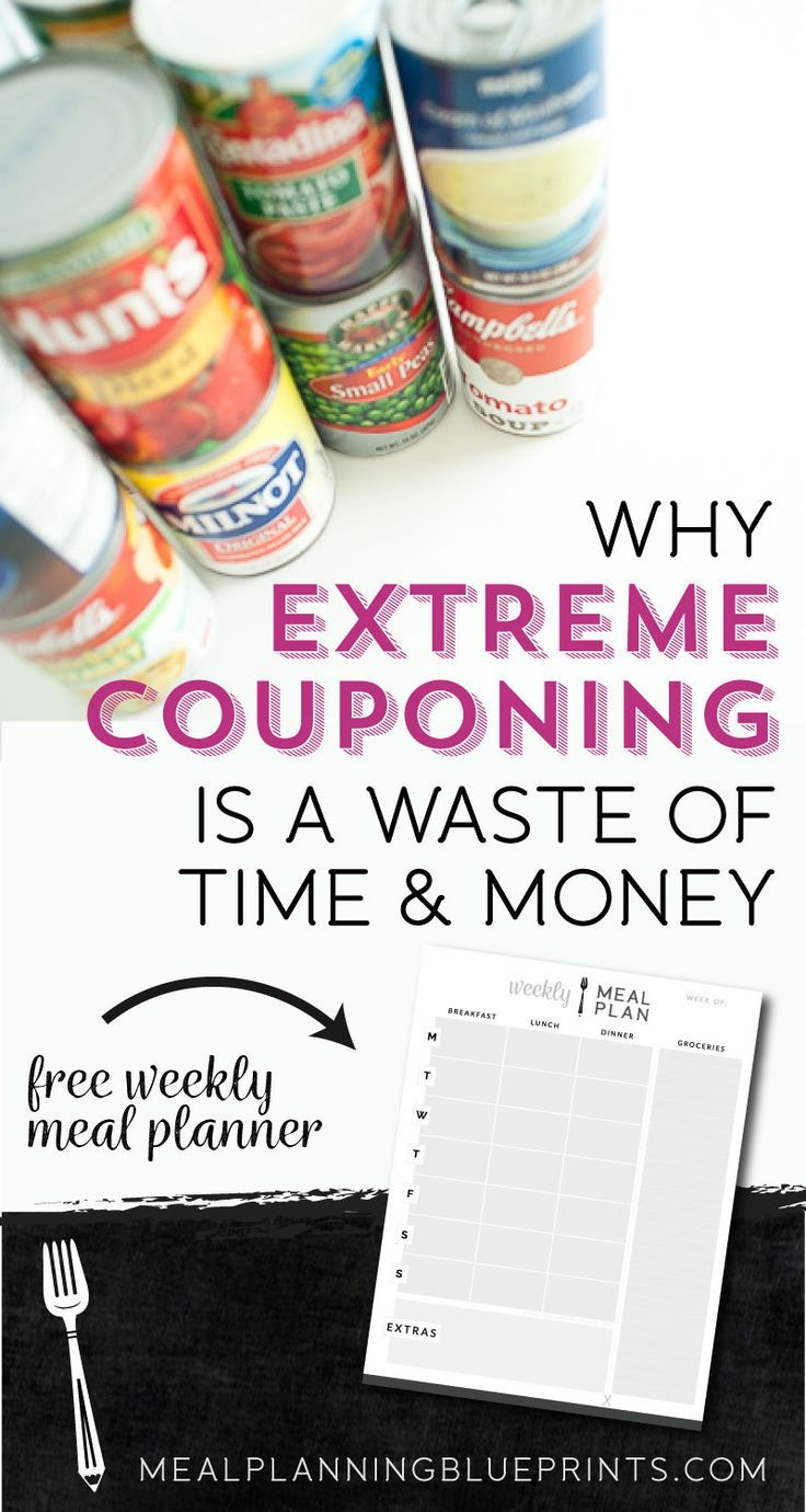 I Stopped All Other Couponing
