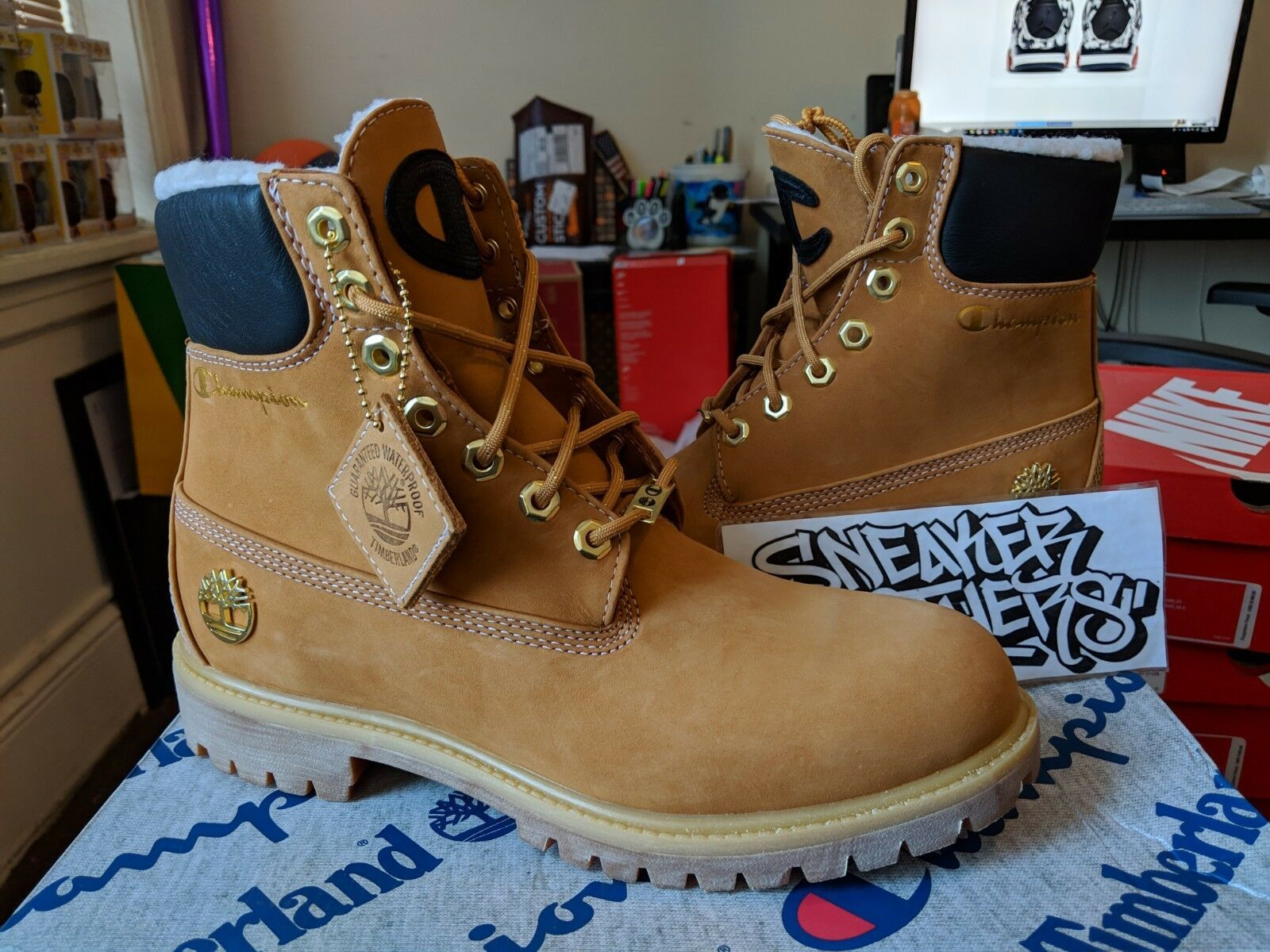 Timberland x Champion 6 Inch Luxe