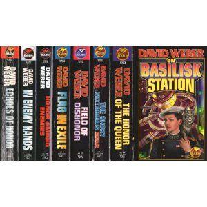 The Honor Harrington Series By David Weber My Latest Guilty Pleasure Sci Fi Series I Haven T Finished All Honor Harrington Science Fiction Books David Weber