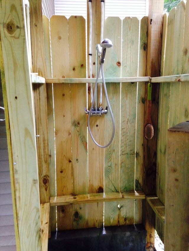I Bought An Outdoor Shower Mixing Valve