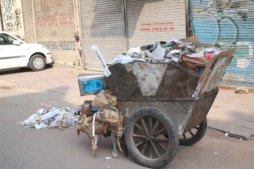Dustcart Paharganj Delhi. Baby strollers, Stroller, Delhi