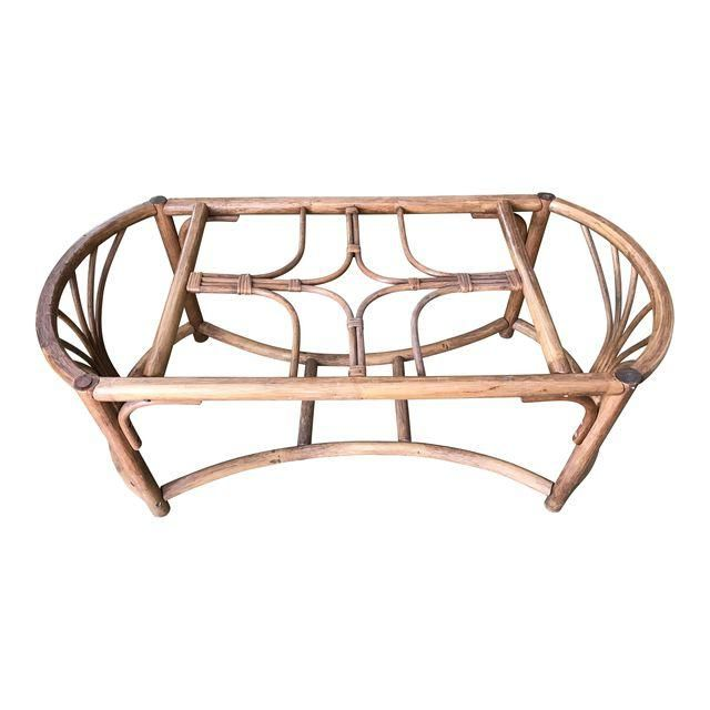 Image Of Vintage Rattan Bentwood Coffee Table Table Basse Table