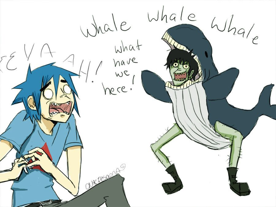 I Know This Is Mean But It Made Me Laugh So Hard Gorillaz