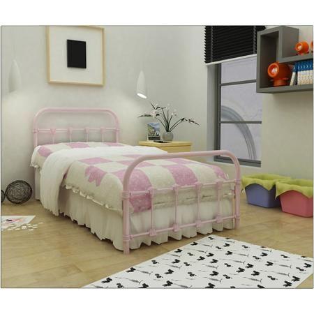 Home Childrens Bedroom Furniture Metal Twin Bed Frame