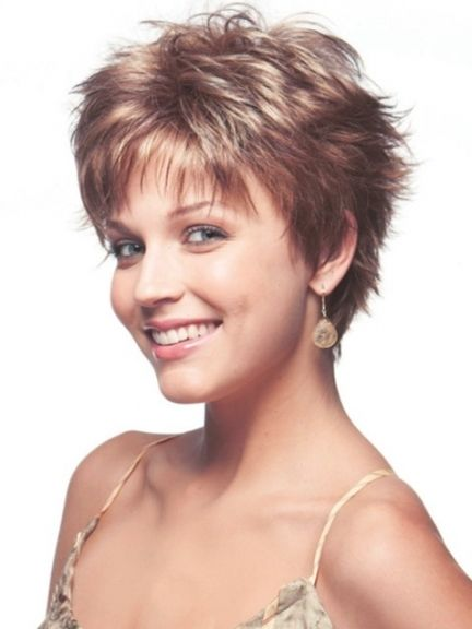 Image Result For Short Wash And Go Hairstyles Short Hair Styles Short Hairstyles Fine Haircuts For Fine Hair