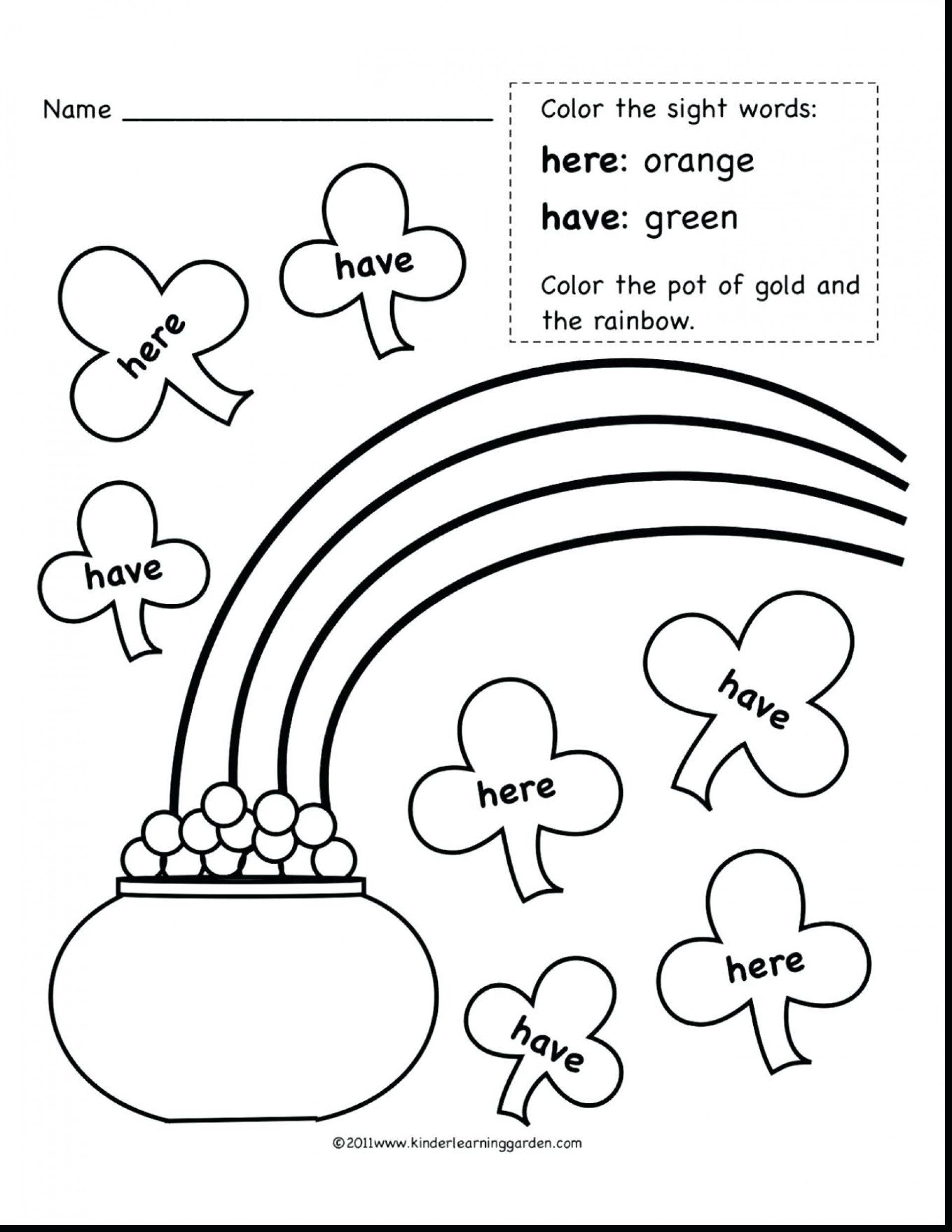 Sight Word Coloring Pages Elegant 015 2nd Grade Sight