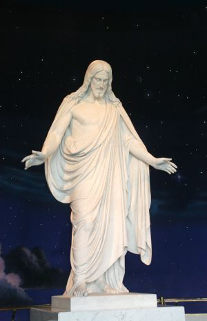 """To sit in this room, and ponder your life, and what the Savior did for us, is an amazing experience.  This 11 foot replica of Thorvaldsen's """"Christus"""" is the most beautiful and inspiring statue of Christ I have ever seen. This statue can be seen in several other Church of Jesus Christ of Latter-day Saints visitors centers around the country.  A wonderful place i can't wait to visit again!"""
