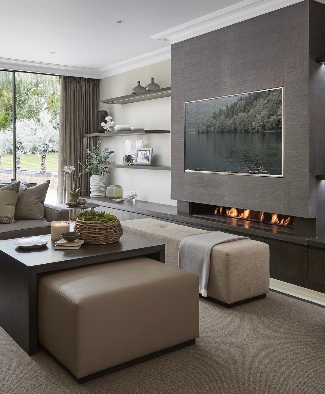 Contemporary sitting room from our wentworth project- love ...