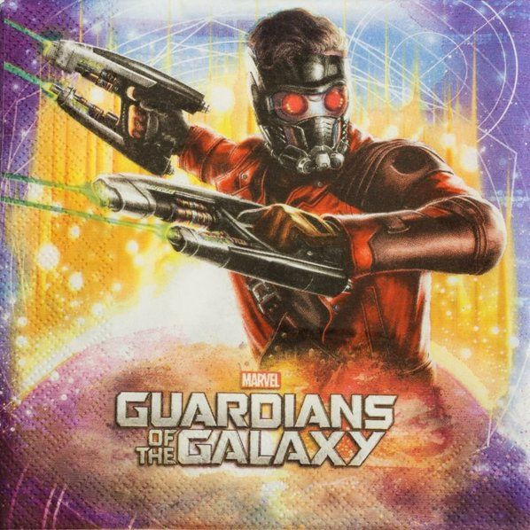 Check out The Guardians of The Galaxy Paper Napkins - Cheap Party Supplies from…