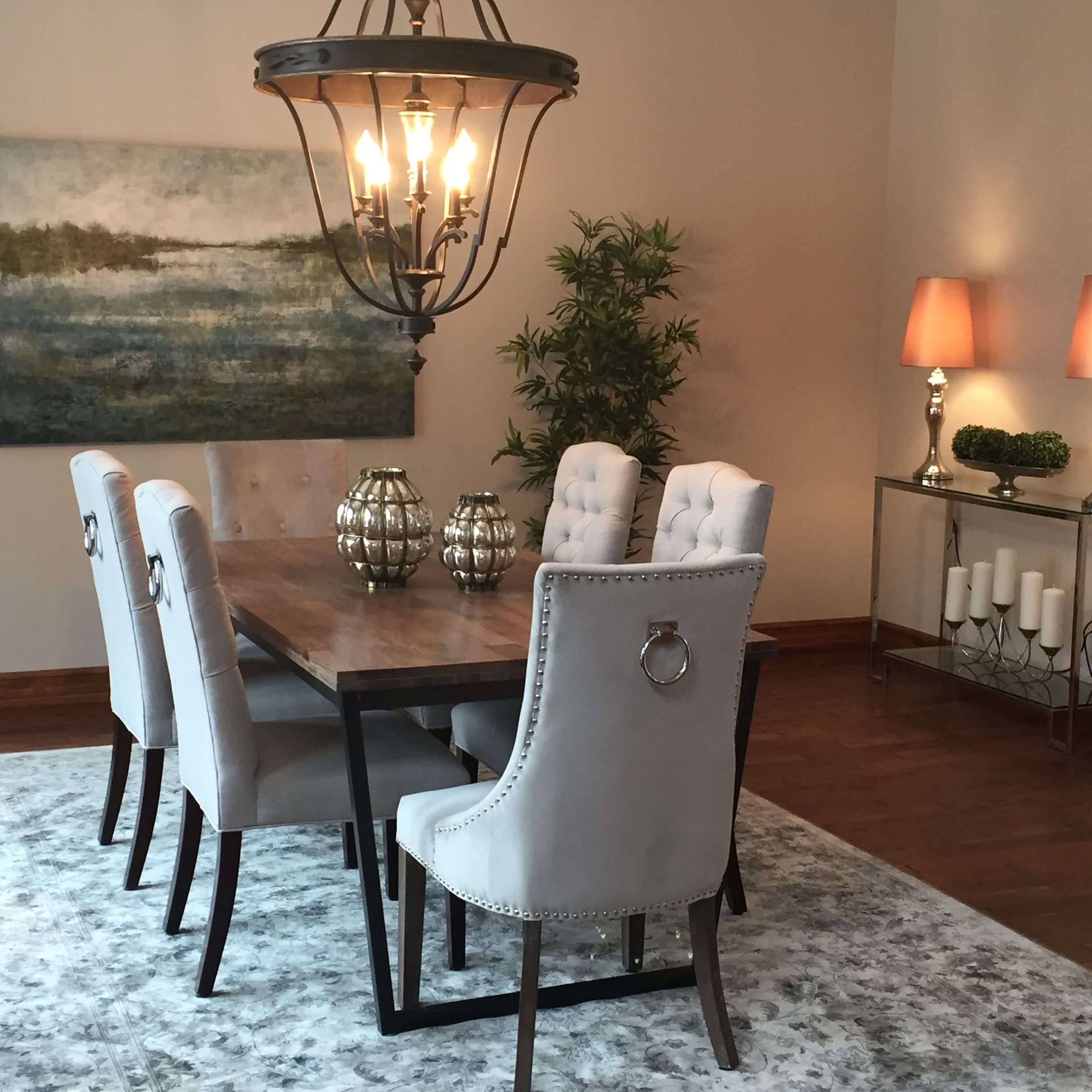 Home Staging Dining Room Table: Dining Room~by Transcend Staging