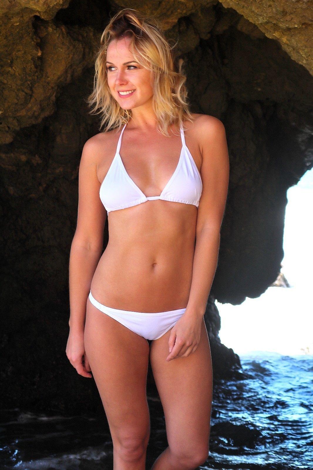 8167f822bfc Triangle Bikini White Bikini Sexy Bikini Cute Bikinis Girls Swimsuits  Swimwear White Two Piece, Cute