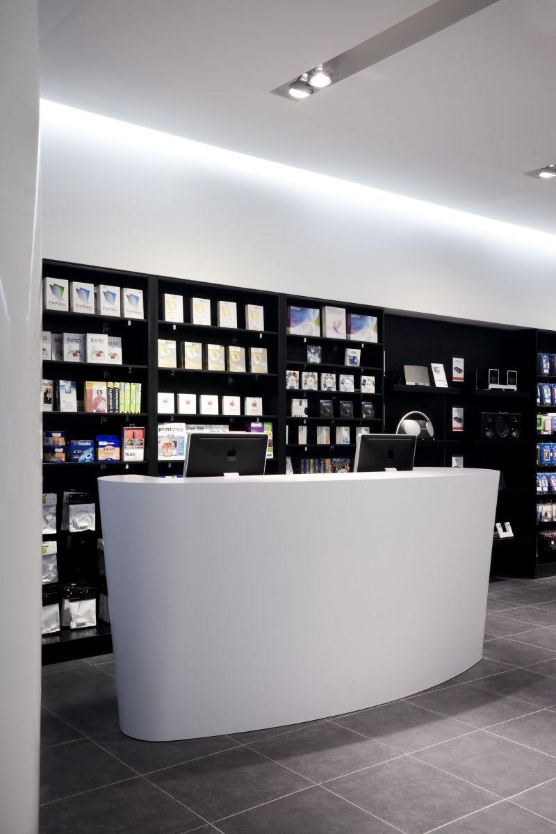 apple premium reseller store by brooking harper doncaster retailand retail design retail. Black Bedroom Furniture Sets. Home Design Ideas