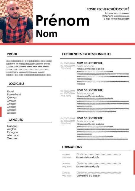 Exemples de CV à Télécharger Gratuit au Format Word en ...