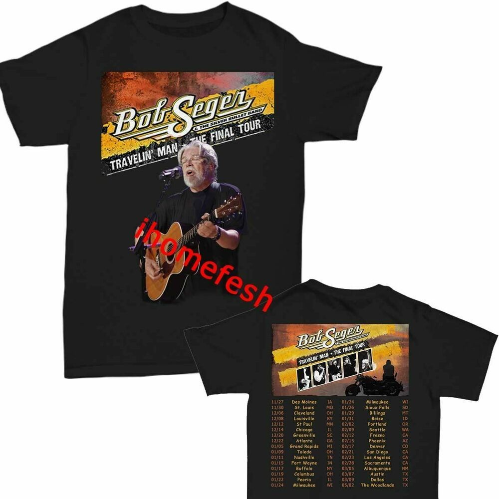 Bob Seger and the Silver Bullet Band 2019 Farewell Tour t shirt