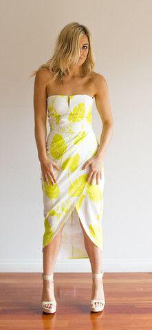 Envy Me Dress - Lime – Velvet & Spice