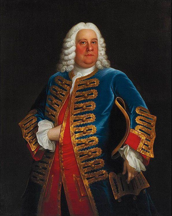 George Frideric Handel (born Georg Friederich Händel) (1685-1759), painting…
