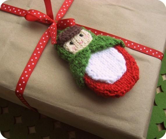 Knitting: Knt Matryoshka Doll Ornament Pattern (With ...