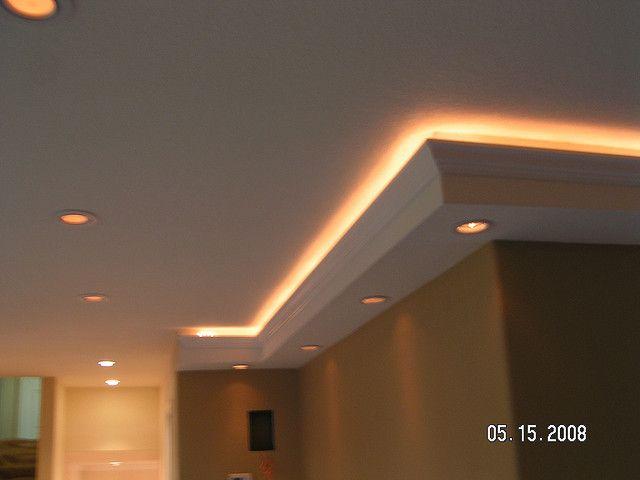 Custom Lighting In Soffits We Built In 2019 Master Bath