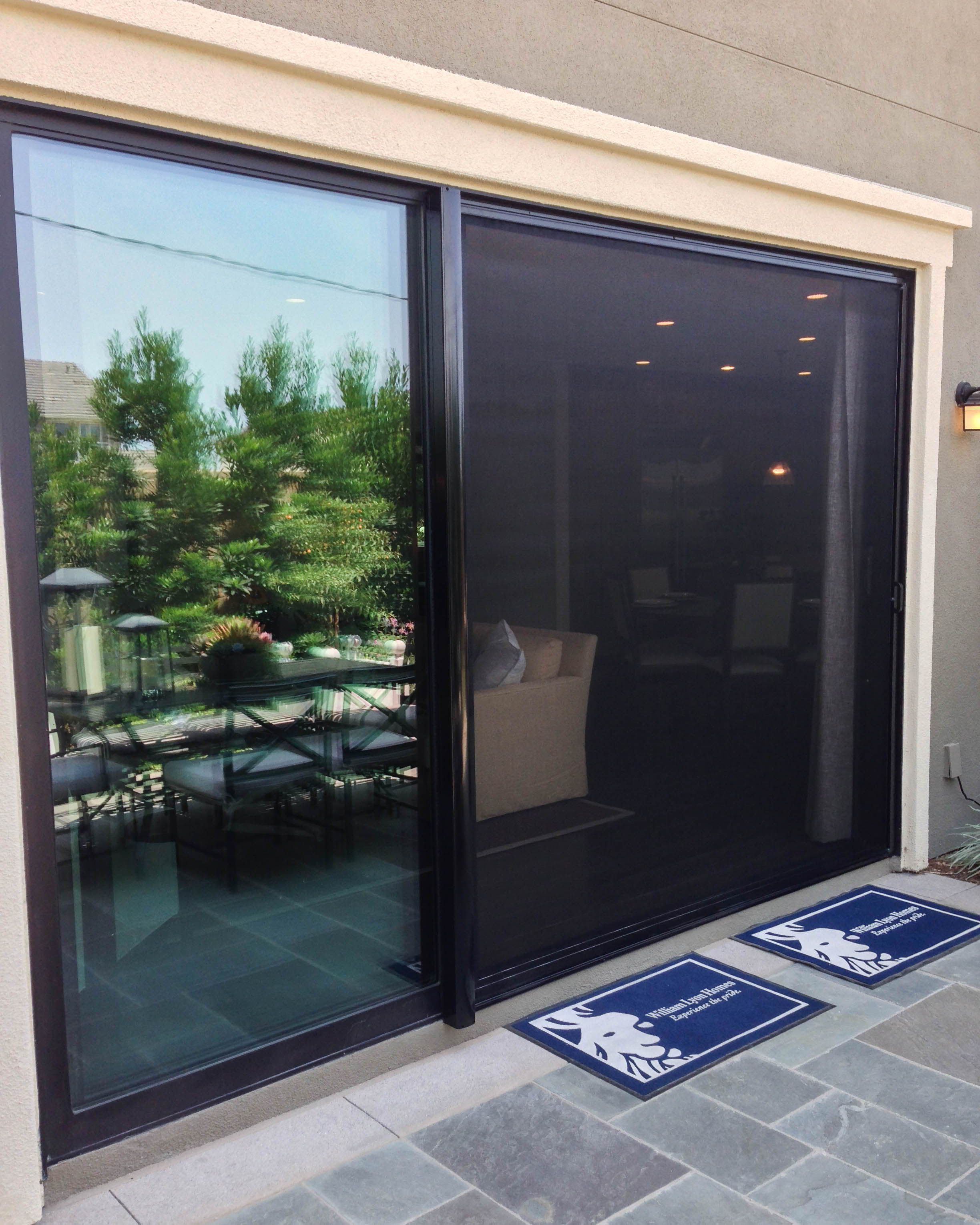 To Our Dealers Give Your Customers With Compacting Sliding Doors The Retractable Screen Door Sliding Screen Doors Retractable Screen Porch Retractable Screen