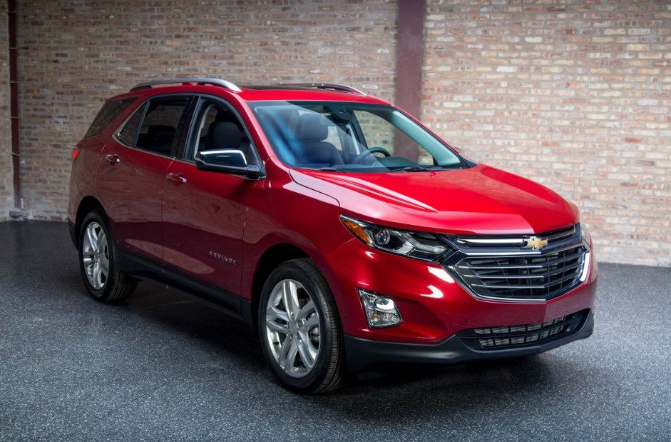 2018 Chevrolet Equinox Colors Price Release Date