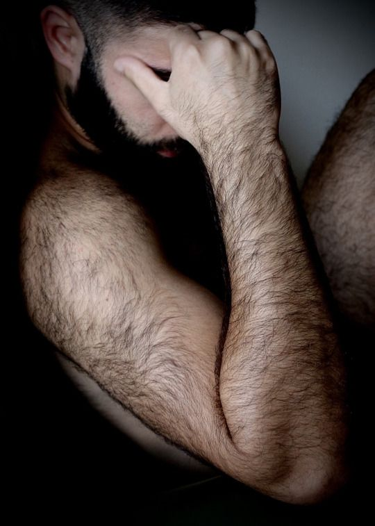 Hairy Arms Man 7