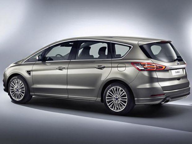 Ford divulga fotos da nova geração da S-Max