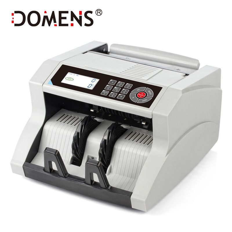 New Design LCD Display Bill Counter UV+MG+MT+IR +DD Detection DMS-1480T Special for Multi-Currency Cash Counter Counting Machine