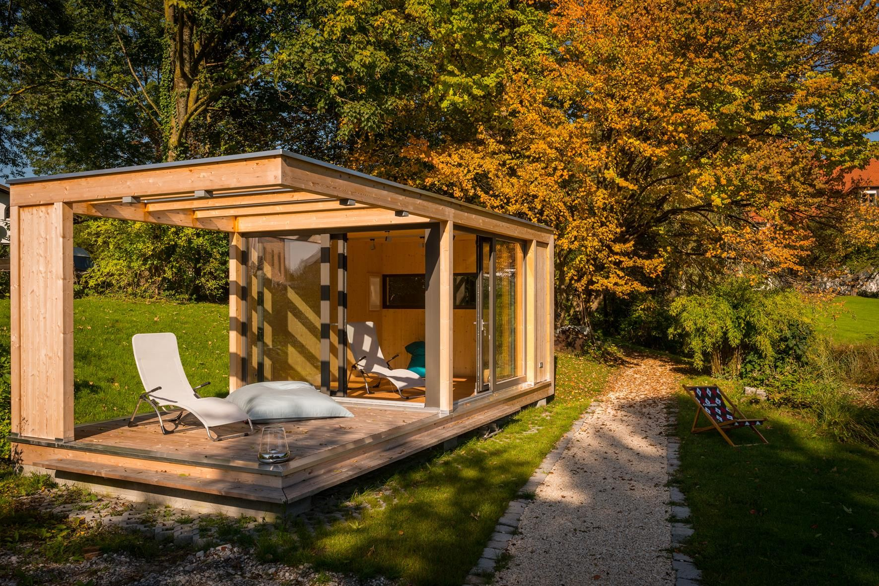 Design Gartenhaus design gartenhaus auf bayerischem seegrundstück gardenhouses