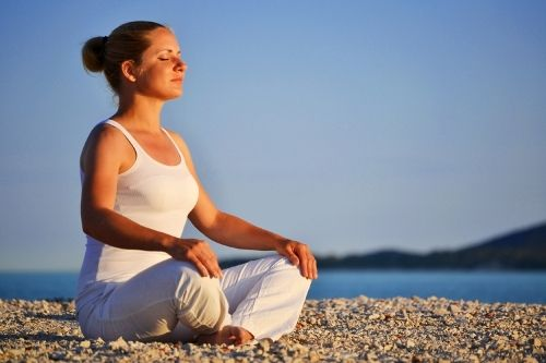 Meditation can be an effective way to ease your nerves, as it allows you to control racing thoughts and feelings. It also enables you to focus on your breathing, which can help with relaxation and calming nervousness.