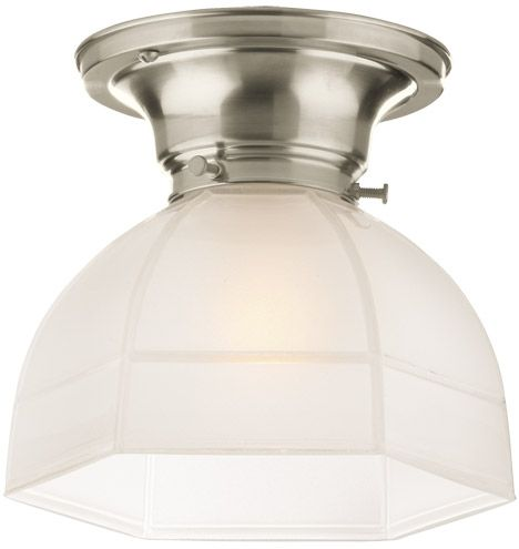 Laurel Classic Flush Ceiling Fixture With Hexagonal Shade Thinking About 2 Above The Sink