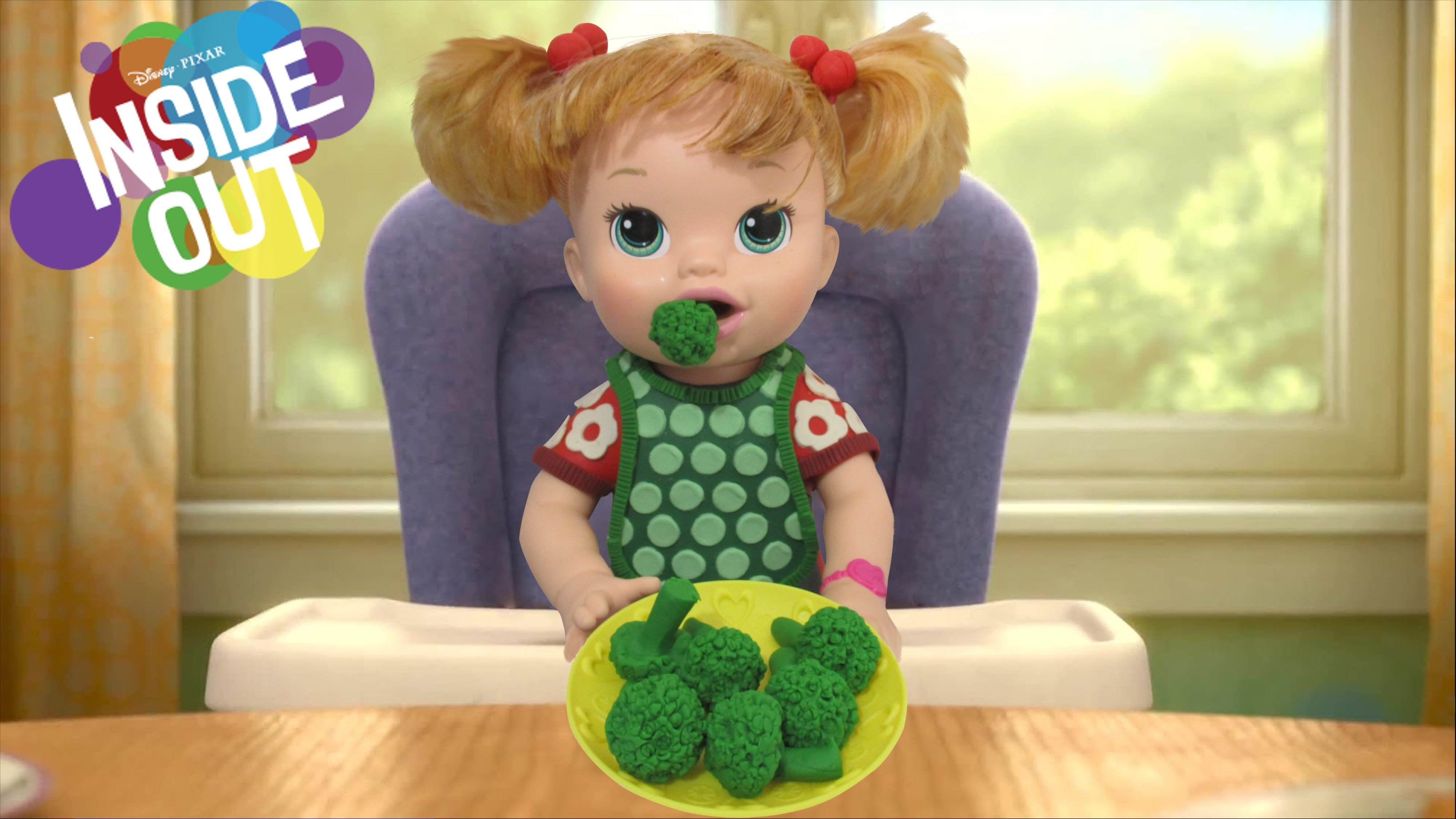 Play Doh Baby Riley Inside Out Inspired Costume Baby Alive Doll Baby Alive Dolls Baby Alive Play Doh Baby