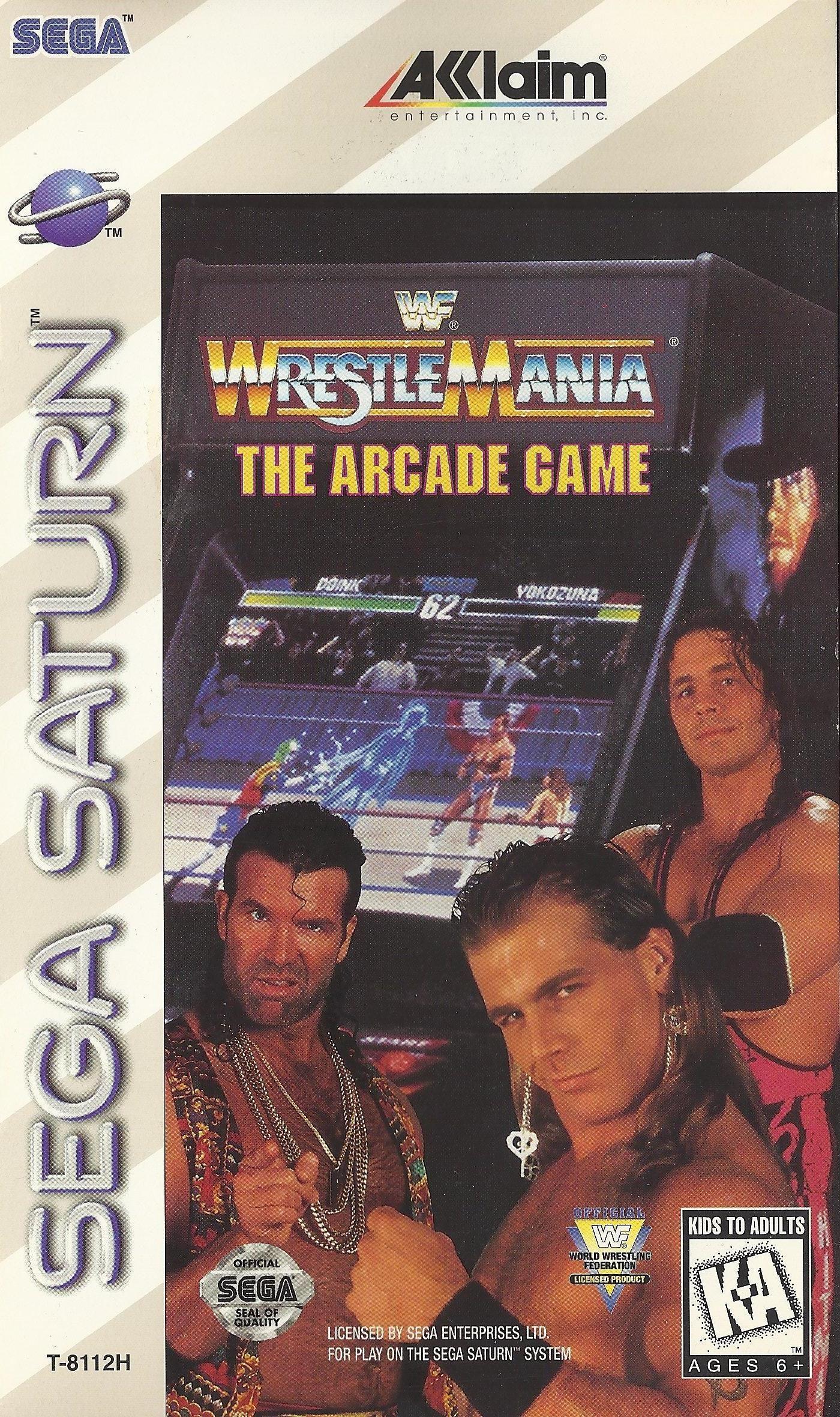 WWF WrestleMania: The Arcade Game Sega Saturn Roms Free Download