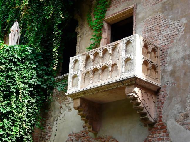 Balkon, Casa di Giulietta, Verona