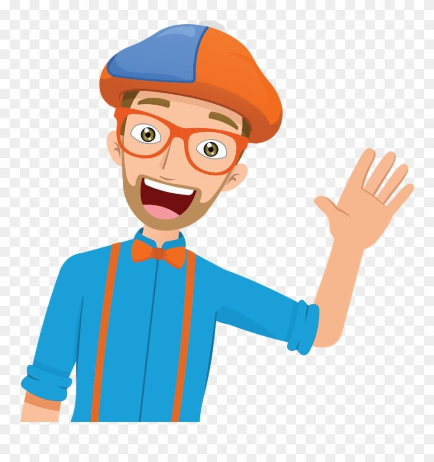 Download Hd Blippi Youtube Wizard Hat Clip Art Red Hat Clip Art Blippi Cartoon Png Download And Use The Free Clipart For Yo Clip Art Hat Clips Cartoons Png