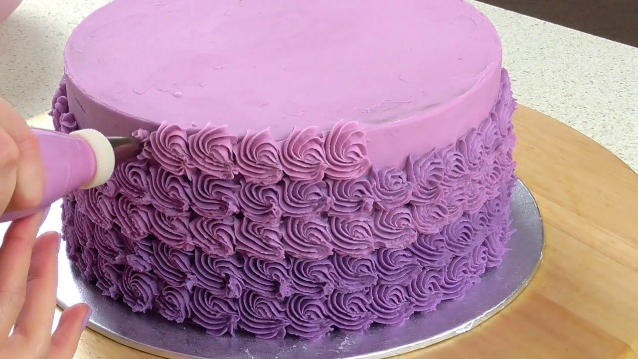 Mini Ombr Rosette Cake Decorating CAKE STYLE YouTube Cakes