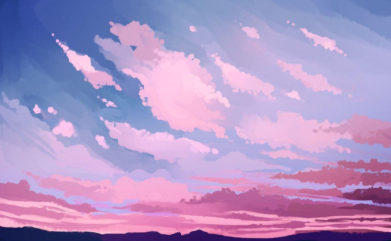 5 Tumblr Aesthetic Desktop Wallpaper Desktop Wallpaper Art Anime Scenery Wallpaper