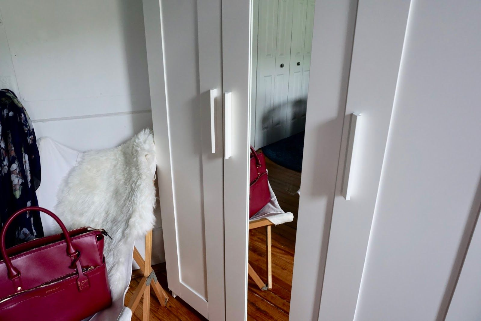 DIY Ikea Brimnes Wardrobe Handle Upgrade   Apt stuff   Ikea
