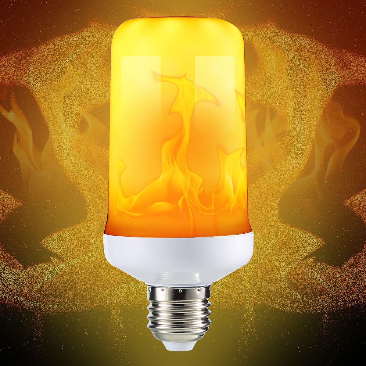 E27 4 Modes Smd2835 Led Flame Effect Flickering Emulation Fire Light Bulb Decoration Lamp Ac85 265v Decorative Light Bulbs Light Bulb Candle Bulb